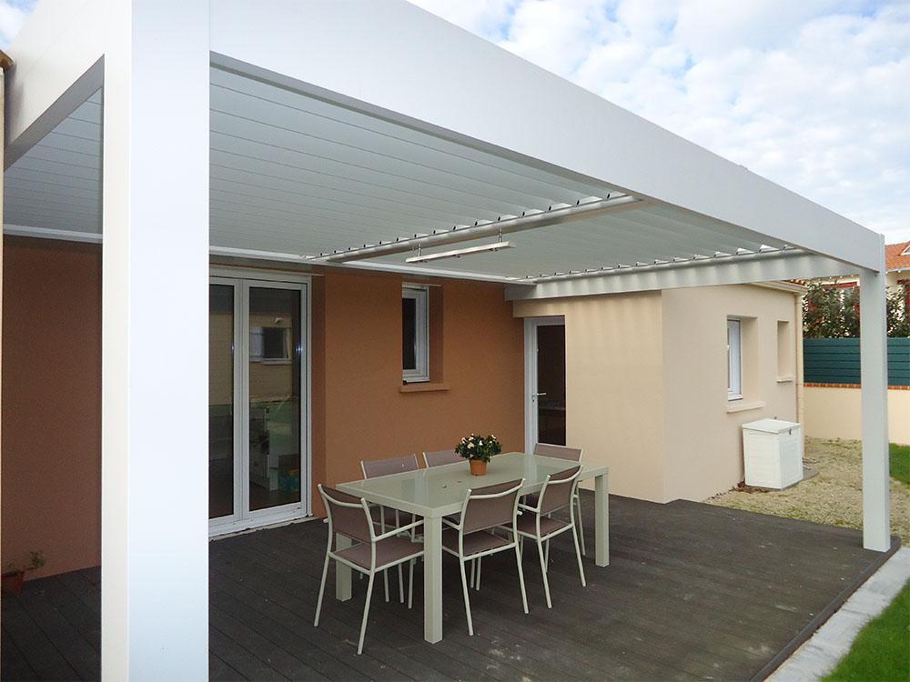 pergola lame orientable leroy merlin maison design